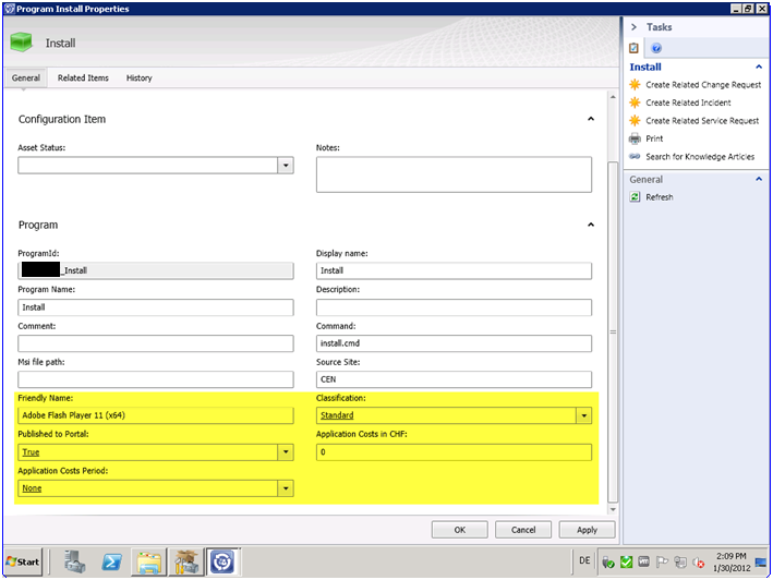 Self Service Software Ordering (using SCSM, SCCM and SCO
