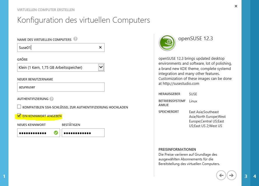 Connect to a Linux VM on Windows Azure – Part 1/2