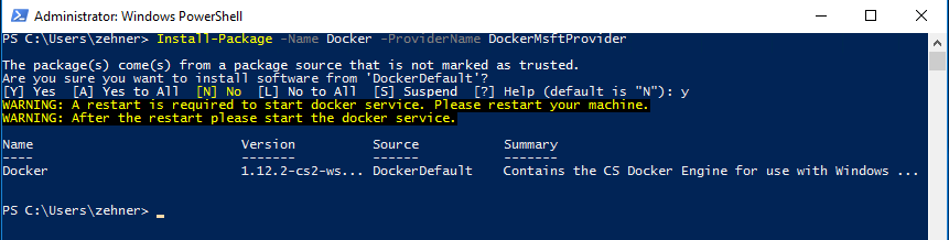 Docker Container Management – Windows Container Management Basics
