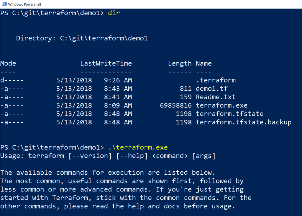 Terraform – a first introduction | marcelzehner ch