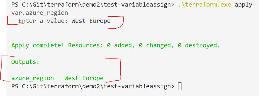 Terraform – introducing input variables | marcelzehner ch