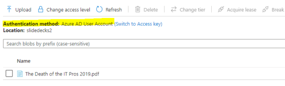 14-Access with AAD Account, success